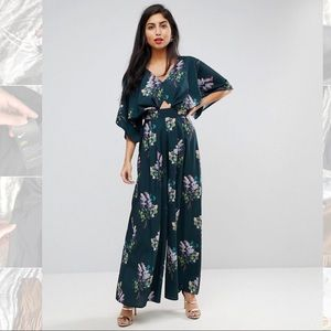ASOS Jumpsuit with Kimono Sleeve and Wide Leg